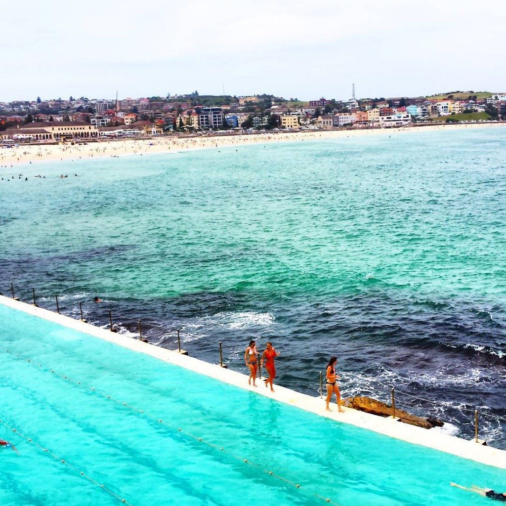 Sydney, Pools, Swimming, Bondi Beach, Bondi, City, Urban, Infinity Pool