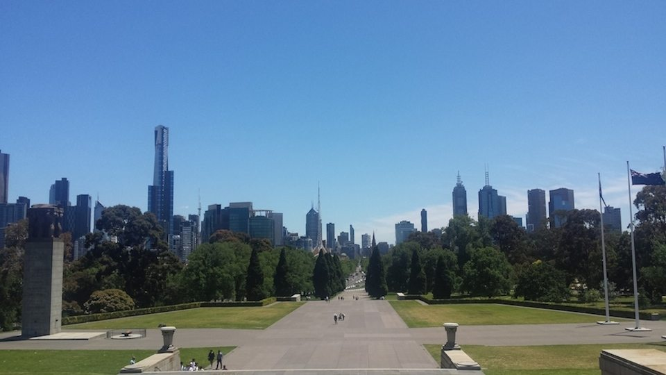 MELBOURNE- shrine of remembrance