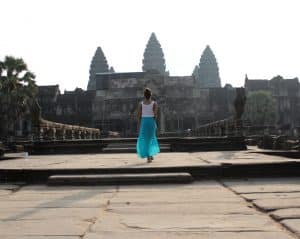 Angkor Wat, Cambodia, South-East Asia, Travelblogger