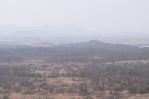 DMZ, North Korean Border, View over North Korea, Dorasan observatory