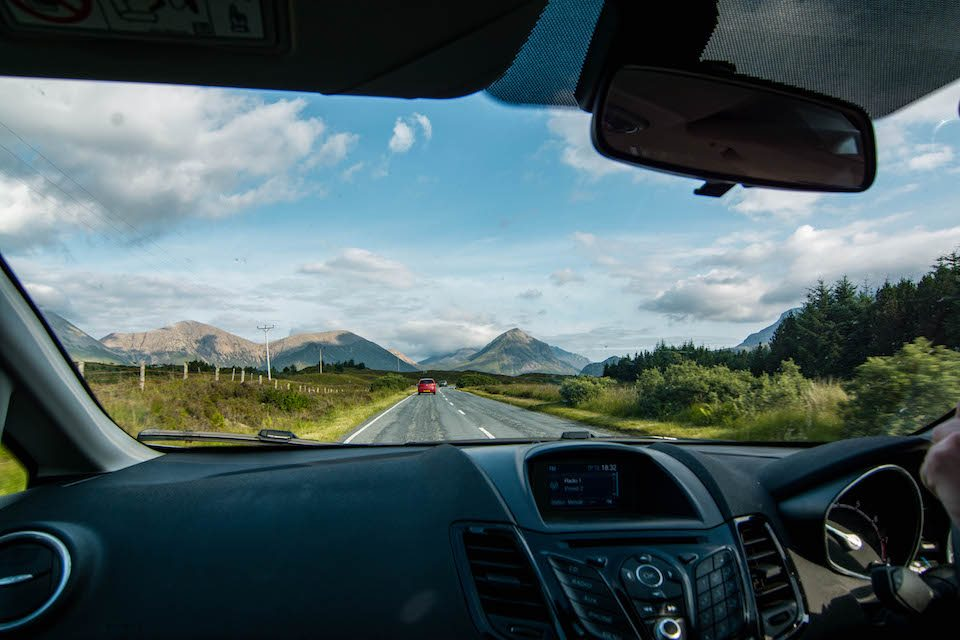 Travel Itinerary for a 9 day Road Trip in Scotland, Free camping in Scotland, Road trip in Scotland, Scottish Highlands, Road Trip Isle of Skye, Isle of Skye, Edinburgh, Glasgow, Fort Williams, Glencoe