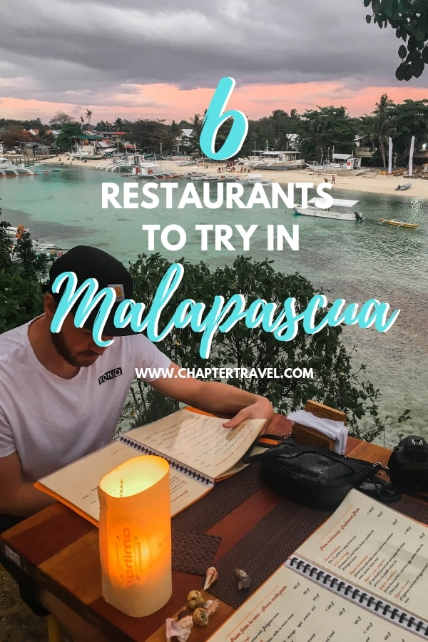 Where to eat in Malapascua? Food is always important for any of our trips. While Malapascua isn't necessarily a foodie heaven, there are still some restaurants that are worth a try! In this post you can find 6 restaurants in Malapascua that are worth a try, not only because of the food, but also because of the atmosphere and vibe! #malapascua #philippines