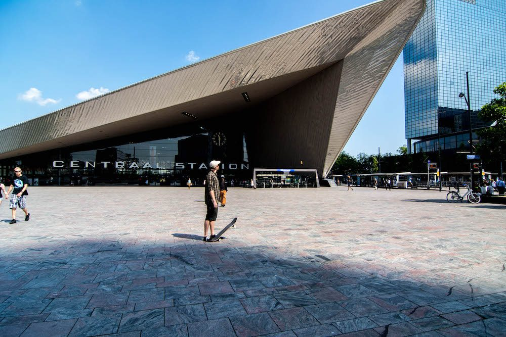 Things to do in Rotterdam, Our hometown Rotterdam, Central station Rotterdam, Explore the architecture in Rotterdam, Nederland, the netherlands, #rotterdam