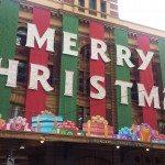 Melbourne, Flinders Street, Christmas,