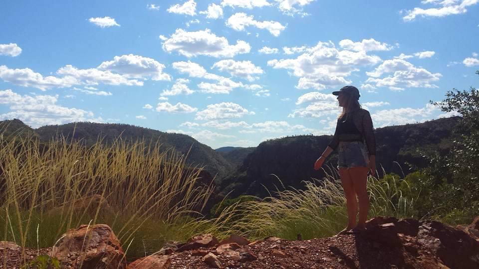Lake Argyle, happy, backpacker, Lake Argyle Resort, backpacking, traveling, Australia, Kimberley, The Kimberley Region, Outback, Kununurra, Jewel of the Kimberley, CHAPTERTRAVEL, Main Ord Dam.