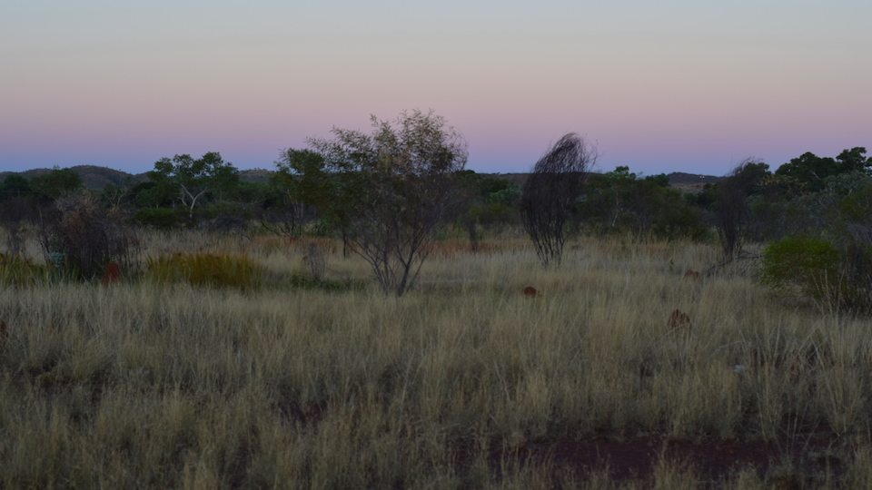 Halls Creek, WA, sunset