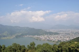 View from the Peace Pagoda in Pokhara, Pokhara, Peace Pagoda, Things to do in Pokhara