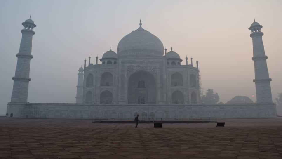 Visiting the Taj Mahal, Taj Mahal, India