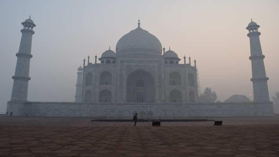 Visiting the Taj Mahal, Taj Mahal, India
