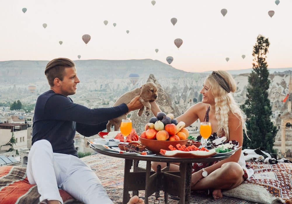 10 travel couples share their most romantic travel experience
