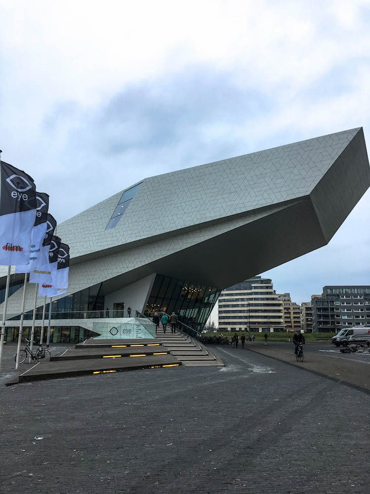 During out visit in Amsterdam we went to the Eye Film Museum. Be sure to always check if there are any exhibitions as there wasn't one when we went. Luckily we could go to the Panorama room and see their permanent collection.