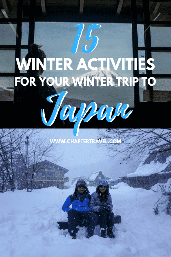 Winter is a great time to visit Japan. The iconic spots are less crowded, certain areas are true winter wonder lands and there are a lot of fun winter activities. I asked various travel bloggers for their favourite thing to do during winter in Japan. Have a great time! #Japan