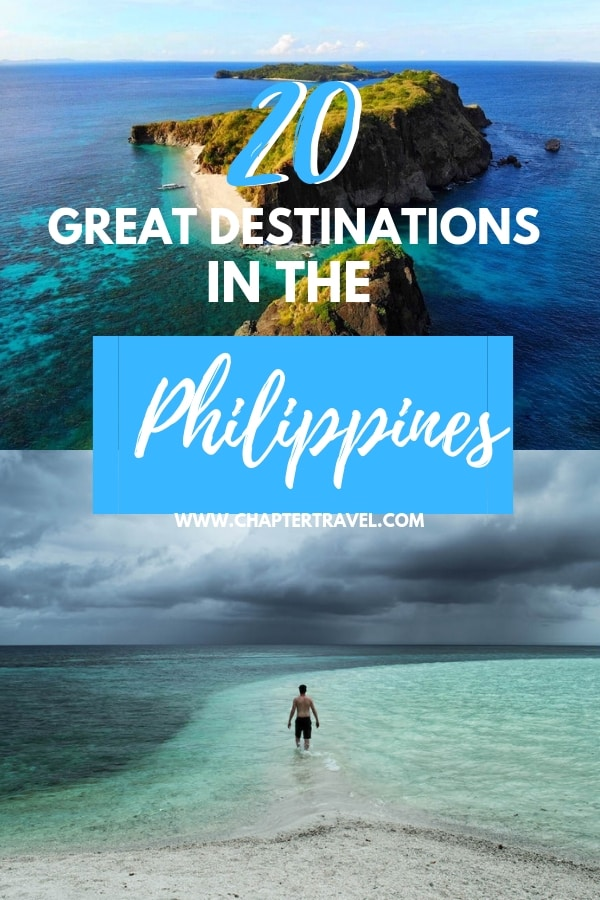 Are you planning on visiting the Philippines? It can be quite hard to decide where to go in the Philippines, since there are so many beautiful islands. In this article you can find lots of inspiration for your visit to this beautiful Asian countries. Check out these 20 amazing destinations in the Philippines, with both popular and unknown gems! #Philippines